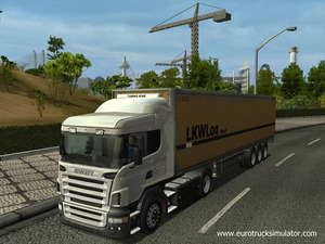 Euro Truck Simulator 2012 Screenshot