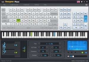 Musical Instrument Software - Screenshot for Everyone Piano