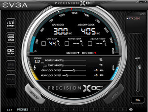 EVGA Precision XOC Screenshot