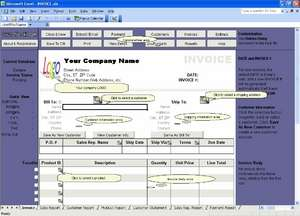 Excel Invoice Manager Enterprise Screenshot