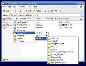 Windows Explorer Addons - Screenshot for Explorer Breadcrumbs