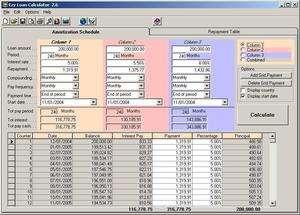 Ezy Loan Calculator Screenshot
