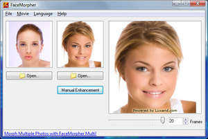Image Animators - Screenshot for FaceMorpher Lite