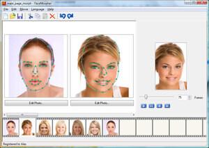 FaceMorpher Screenshot