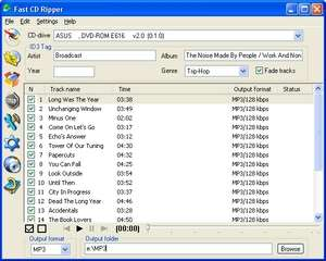 Fast CD Ripper Screenshot