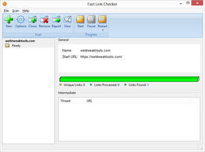 Fast Link Checker Screenshot