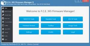 F.C.E. 365 Firmware Manager Screenshot