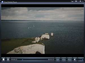 Final Media Player Screenshot