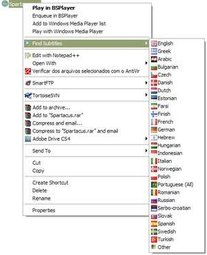 CD and DVD Utilities - Screenshot for Find Subtitles