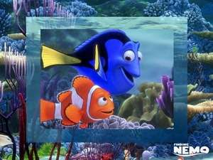 Screensavers - Screenshot for Finding Nemo Movie Screensaver