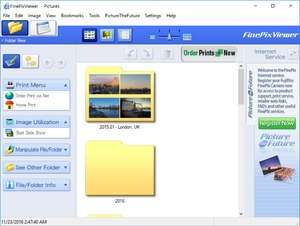 Image Viewers - Screenshot for FinePixViewer