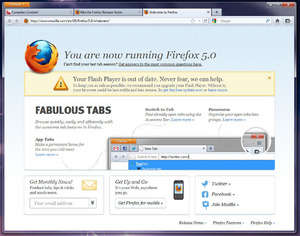 Internet Browsers - Screenshot for Firefox 5