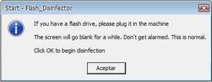 Antivirus Software - Screenshot for Flash Disinfector