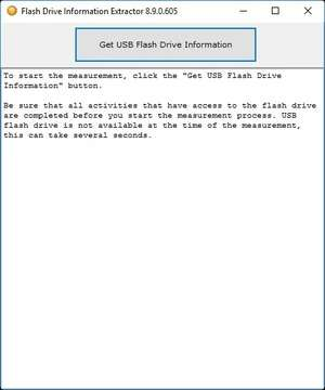 Flash Drive Information Extractor Screenshot