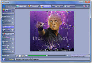 Image Manipulation Software - Screenshot for FotoMix