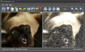 Image Editors - Screenshot for FotoSketcher