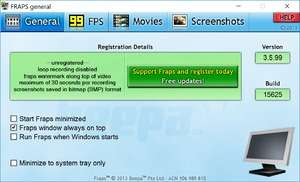 Video Capture Programs - Screenshot for Fraps