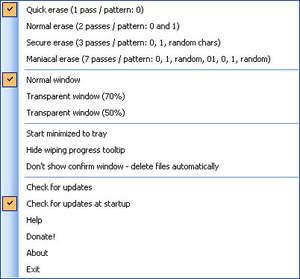 Free File Wiper Screenshot