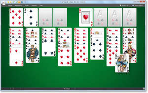 Free FreeCell Solitaire 2012 Screenshot