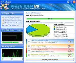 Fresh RAM Screenshot
