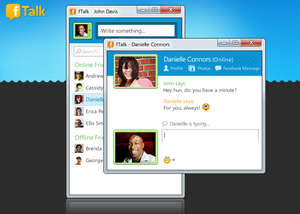 Instant Messaging - Screenshot for fTalk