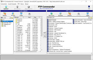 FTP Clients - Screenshot for FTP Commander