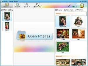 Image Manipulation Software - Screenshot for Funny Photo Maker
