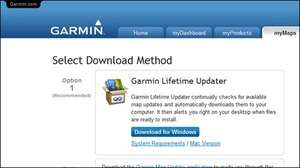 Drivers - Screenshot for Garmin Lifetime Updater