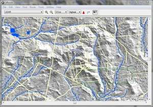 Mapping Software - Screenshot for Garmin nRoute