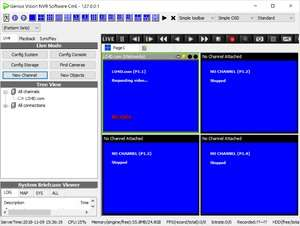 Video Capture Programs - Screenshot for Genius Vision NVR Software CmE