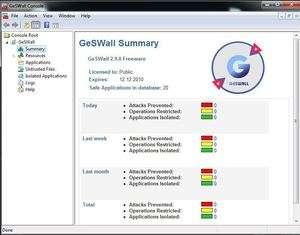 GeSWall Screenshot