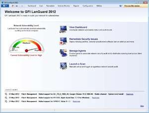 GFI LANguard Screenshot