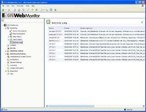 GFI WebMonitor for ISA Server Screenshot