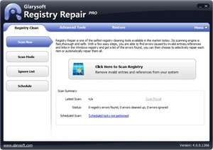 Registry Cleaners - Screenshot for Glarysoft Registry Repair