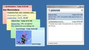 GloboNote Screenshot