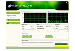Memory Tweaks - Screenshot for GM Memory Washer