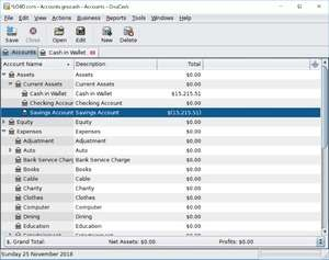 Accounting Software - Screenshot for GnuCash