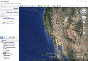 Mapping Software - Screenshot for Google Earth