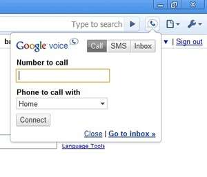 Modem and Telephony Tools - Screenshot for Google Voice and Video Chat