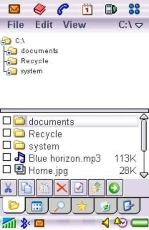 Handy Explorer for Sony Ericsson Screenshot