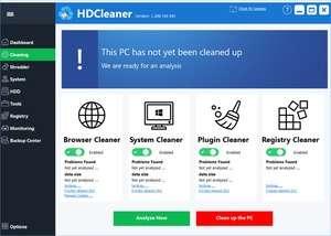 HD Cleaner Screenshot