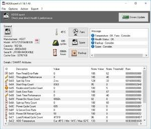 HDDExpert Portable Screenshot
