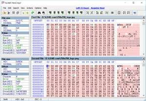 Programming Tools - Screenshot for HexCmp