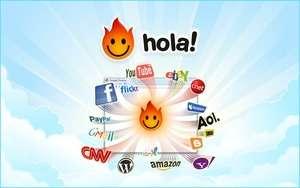 Anonymous Internet Browsing - Screenshot for Hola Unblocker