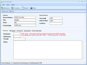 Home Manager Screenshot