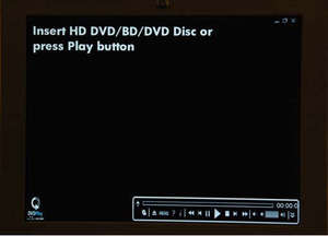 HP DVD Play Screenshot