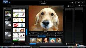 Webcam Software - Screenshot for HP MediaSmart Webcam