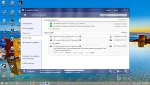 HP Wireless Button Driver Screenshot