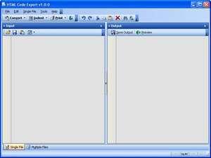 HTML Code Export Screenshot