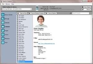 iBackup Extractor Screenshot